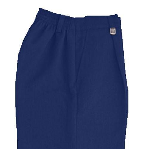 Jungen-Hose, Taille-Einstellknopf, in Schwarz, Grau oder Navy-blau –Alter 3–12, - Schule Uniform Navy