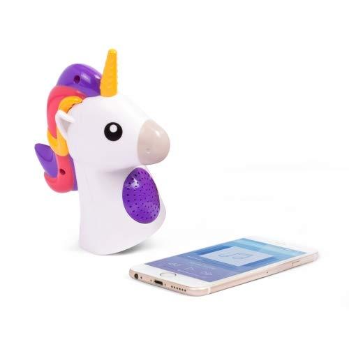Thumbs Up- Bluetooth- Lautsprecher Einhorn Ulla Unicorn mit USB-Kabel zum Aufladen