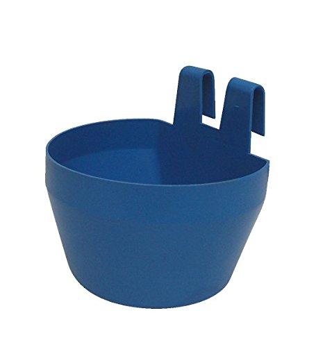 Horizont Trinkbecher und Futternapf aus Kunststoff, 300ml, blau