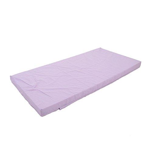 Kinderbettmatratze 60x120 / 70x140 Kindermatratze Babymatratze Reisebettmatratze (140x70x6cm, violett)