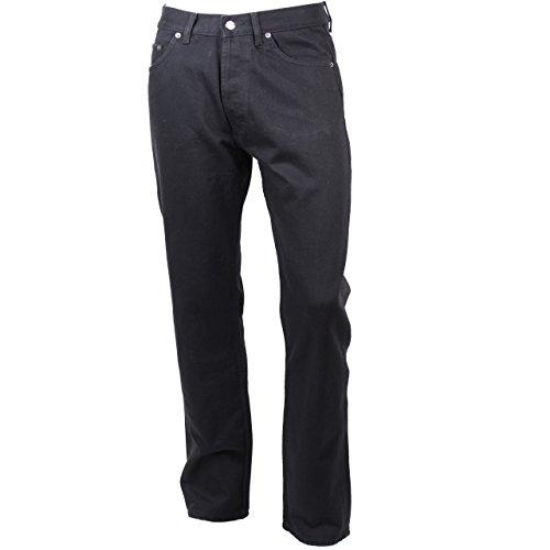 Eddie Bauer Herren Jeans Schwarz 100% Baumwolle Authentic Denim Zip Fly Schwarz