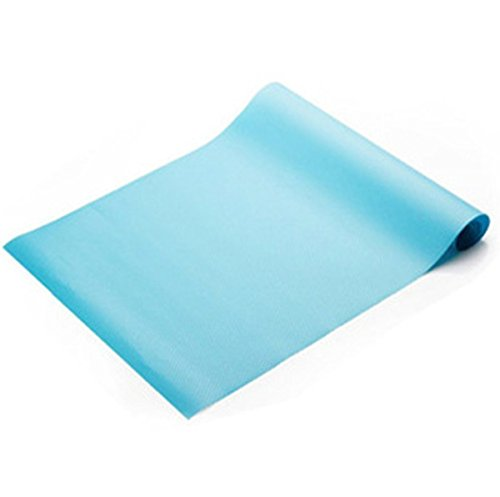 RKPM 1 Piece Non Slip Liner Skid Resistant Mat(Anti Slip Grip) Useful And Multipurpose (Size 30 x 150 CM)Blue