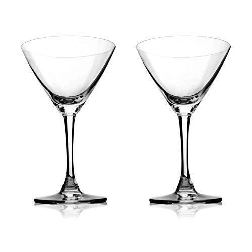 Crystal-martini-cocktail (Klar Crystal Martini/Cocktail Gläser Set 2-6,9 Unzen, Perfekte Qualität Für Bankett, Bar, Party)