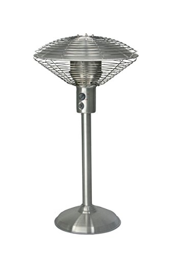 Sahara Stainless Steel Table Top Patio Heater - Silver
