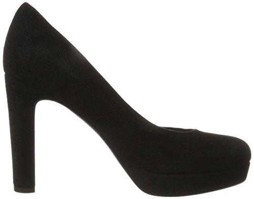 Femme nero Compensées Canile Sheyla E Schmenger Chaussures Nero Y0ATS