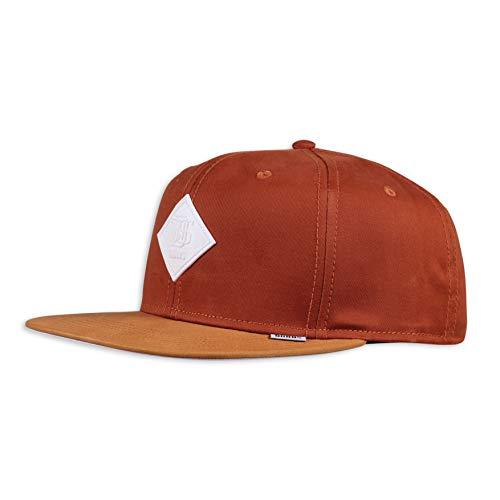 Djinns - Super Twill (Dark orange) - Snapback Cap Baseballcap Hat Kappe Mütze Caps