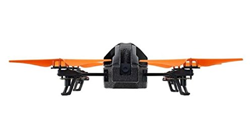 Parrot AR.Drone 2.0 Power Edition Quadrocopter (geeignet für Android-/Apple-Smartphones und -Tablets) orange