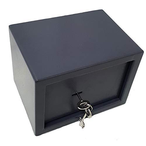 Gardopia Tresor manuell mit Schlüsseln - aus Stahl - Maße: 31 x 20 x 20cm