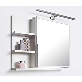 Badspiegel Mit Ablage Und Licht.Domtech Badezimmer Spiegelschrank Mit Ablagen Badezimmerspiegel