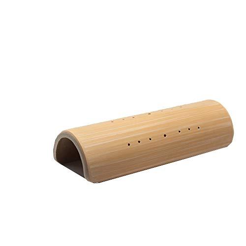 RXRENXIA U-Förmige Bambus Kissen-Nanmu Kissen Zervikale Dekompression Kissen Traktion Reparatur Linderung Kopfschmerzen Behandlung