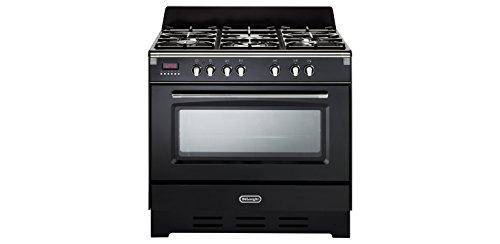 De Longhi Cucina a gas 5 fuochi Forno Ventilato Grill LxP 90x60cm MEM 965 NN