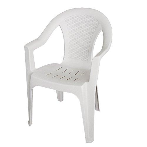 Einfaches Set 6+1 Kunststoff in Weiß - 2