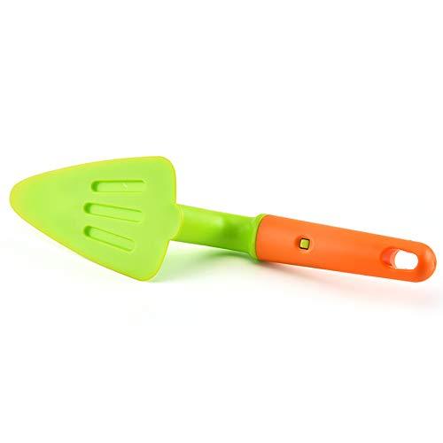 Beito 1PC kreativen Kuchen Schaufel Triangular Spaten Spachtel Leicht Flexible Kuchen Slicing Pizza Slicer Adjustable Küchen-Backen-Werkzeug Flexible Slicer
