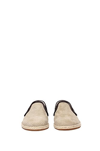 A50024AB1888R724 Dolce&Gabbana Pantoufle Homme Chamois Beige Beige