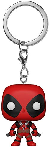 Funko-Deadpool Schlüsselanhänger Schwerter, Mehrfarbig, 31735 (Deadpool Videospiel Kostüm)