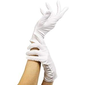 Limit Sport - Guantes cortos de espuma, color blanco, talla única (CM891)