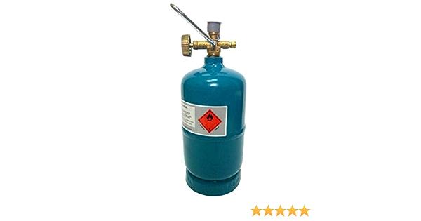 Preis-Zone Leere bef/üllbare Gasflasche Propan Butan 1kg//1,8L Campinggas Grillen BBQ Gas Camping Gaskocher Bradas 9051