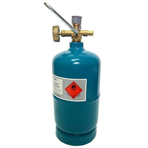 Leere befüllbare Gasflasche 0,5kg / 1,2L Camping Grill Boot Propan Butan Gas