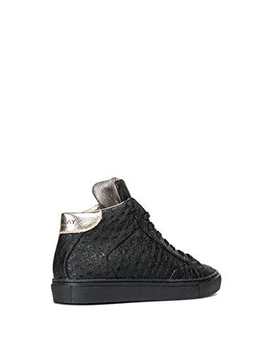 Replay Women's Women's Black High-Top Sneakers Synthetic Black