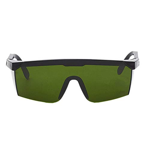 Laser Protect Safety Glasses PC Eyeglass Welding Laser Protective Goggles Dark green