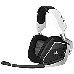 1 de Corsair Void Pro RGB Wireless - Auriculares Gaming (PC, Inalámbricos, Dolby 7.1) Color Blanco