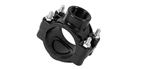anboh abrazadera para tubos de PE de 25,32,40,50,63,70Regner mm Perfil de calidad del conector