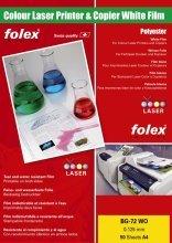 Farbdrucker und Farbkopiererfolien weiß und klar A4, 0,125 mm w