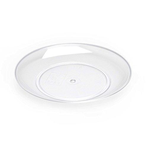 wegwerfgeschirr, harten kunststoff transparent kristallschale, geschmack, teller, gewürzt mit obst essen, 100,knochen.,13. * 2 cm