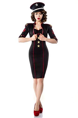 (Military-Kleid mit Jacke, Größe:XL)