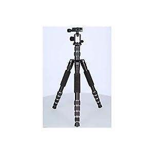 Rollei-Leichtes-Reisestativ-Traveler-mit-Kugelkopf-kompatibel-mit-DSLR-DSLM-Kameras-inkl-Einbeinstativ-Arca-Swiss-Schnellwechselplatte-Stativtasche