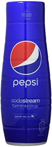 SodaStream Sirup Pepsi Cola - 1x Flasche ergibt 9 Liter Fertiggetränk, Sekundenschnell zubereitet und immer fr