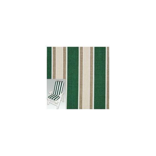 Cuscino Xtra Bianco multiriga verde sedia alto 70+44x46