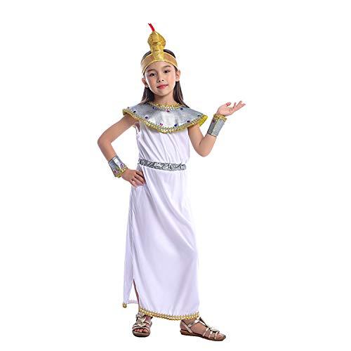 Cleopatra Pharao Und Kostüm - LOLANTA Elegantes Kleopatra-Kostüm für Mädchen, altes ägyptisches Kostüm für Halloween, Geschichte, Themenpartys