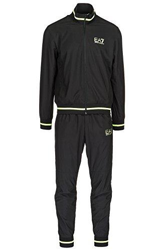 Emporio Armani EA7 Herren Jumpsuit fashion Anzug Sweatshirt Schwarz EU M (UK 38) 3ZPV68PN36Z1554