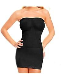 Vectry Vestido ajustador de Cuerpo Delgado Ultra Ajustado de Cintura Alta Mujeres