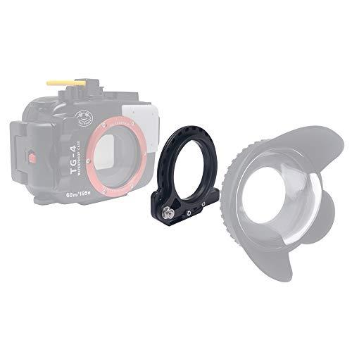 Venidice 67 mm Flip Adapter Unterwassergehäuse Filterring Halterung Adapter Klemme für RX100 A6000 S110 G15 G16 TG5 TG4 TG-5 TG-4 -