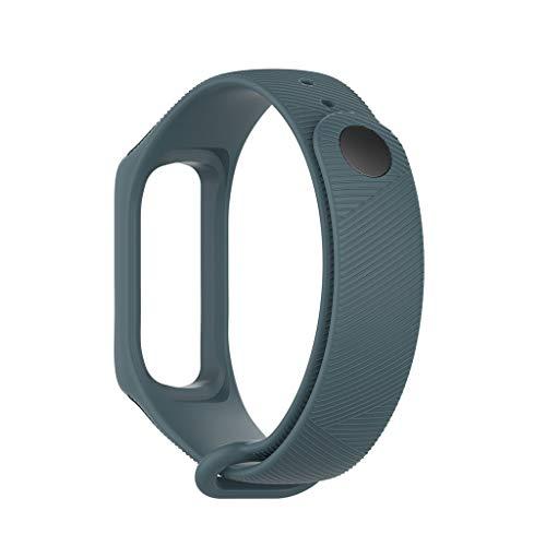 Strap Band,Janly Kleine Silikon Ersatz Uhrenarmband für Samsung Galaxy fit-e / R375 (Marine) (Monitor Marine Battery)