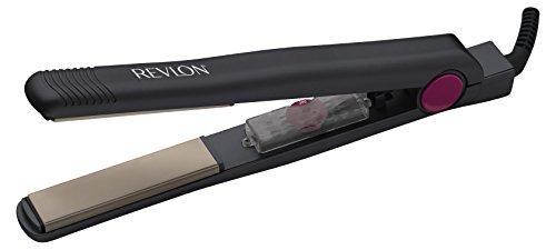 Revlon Lustrous Straightener - Alisador de cabello, 25 configuraciones de calor, hasta 200 C, placas lisas flotantes de 25 mm