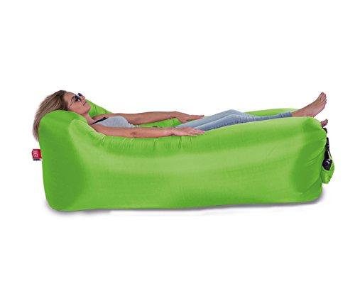 Eliware Lounger To Go aufblasbare Matratze Sonnenliege Strandliege Sitz | Grün