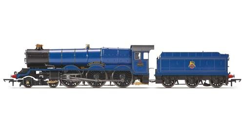 Hornby R3410BR 4-6King Henry III 6000Class Early BR Zug Modell Set (Lionel Starter-set)
