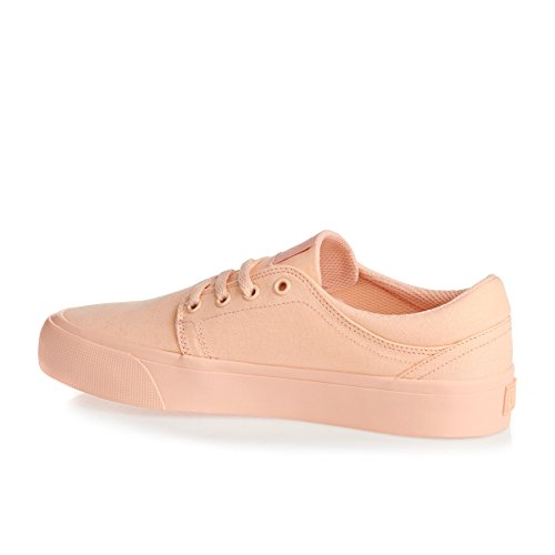 DC Shoes Trase Tx, Baskets mode femme Peachie Peach