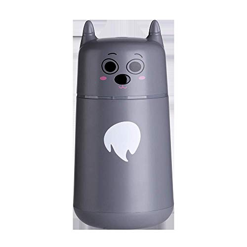 Home New Cute Pet Humidificador USB Humidificador ultrasónico checo Home Office Creative Mini (Color: Gris)