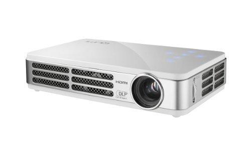 Vivitek Qumi Q5 500 Lumen WXGA HD 720p HDMI 3D-Ready Pocket DLP Projector with 4GB Memory (White) by Vivitek -