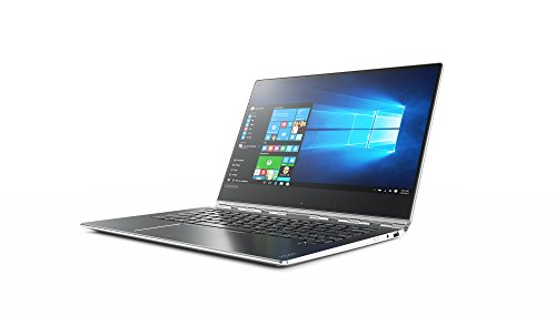 "Lenovo Yoga 910-13IKB - Portátil táctil convertible de 13.9"" UHD (Intel Core I5-7200U, 8 GB de RAM, 512 G SSD, HD Graphics 620, Windows 10), color gris [teclado QWERTY español]"