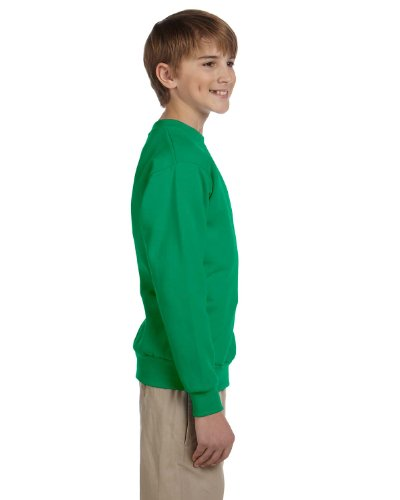 Jugend ComfortBlend EcoSmart Crewneck Sweatshirt_Kelly Green_XL
