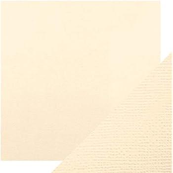 Tonic Studios Perfektes Handwerk Klassisches Kartengewebe Texturiert A4 Creme 10 PK