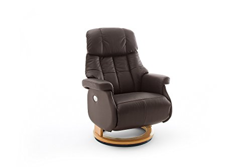 Robas Lund, Sessel, Relaxsessel, Calgary Comfort XL, Leder/braun, 86 x 82 x 111 cm, 64037BN5