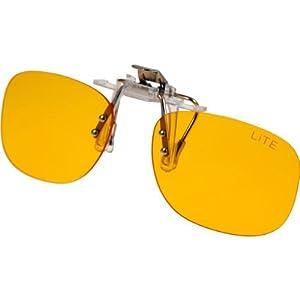 PRiSMA CLiP-ON bluelightprotect LiTE – Blueblocker Brillenaufstecker – Brillen-Clip – Brillenaufsatz – CP704