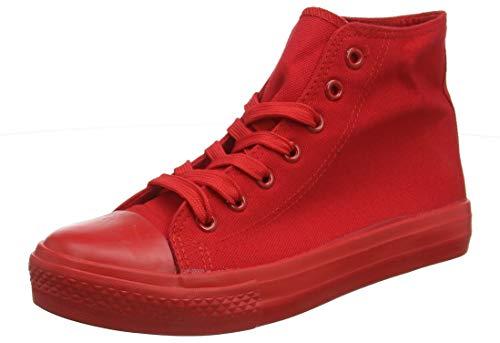 stiefelparadies Herren Schuhe 139903 Sneakers Rot All 36 Flandell