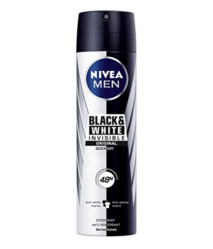 NIVEA MEN NIVEA MEN Spray Invisible For Black & White